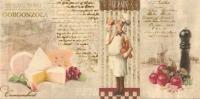 Opoczno Old Provence Inserto Cheese dekorcsempe 29,7 x 60