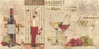 Opoczno Old Provence Inserto Wine dekorcsempe 29,7 x 60