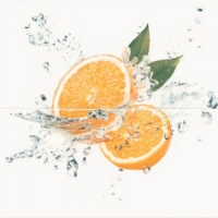 Opoczno Water Sparkles Inserto Orange dekorcsempe 59,4 x 60