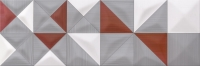 Opoczno dekorcsempe Opoczno Delicate Lines multicolours dekorcsempe