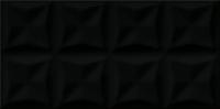 Opoczno falicsempe Opoczno Origami Dune origrami black glossy structure falicsempe 29,7 x 60