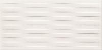 Opoczno dekorcsempe Opoczno Basic Palette white satin braid dekorcsempe 29,7 x 60