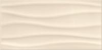 Opoczno dekorcsempe Opoczno Basic Palette beige glossy wave dekorcsempe 29,7 x 60