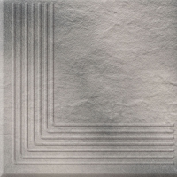 Opoczno lépcsőlap Opoczno Solar grey 3d corner lépcsőlap 30 x 30