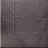 Opoczno lépcsőlap Opoczno Solar graphite 3d corner lépcsőlap 30 x 30