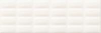 Opoczno falicsempe Opoczno Parisen white glossy pillow structure falicsempe 25 x 75
