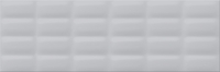 Opoczno falicsempe Opoczno Parisen grey glossy pillow structure falicsempe 25 x 75