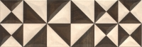 Opoczno dekorcsempe Opoczno Geometrica beige inserto geo dekorcsempe 25 x 75
