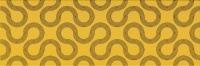 Opoczno dekorcsempe Opoczno Spin yellow black geo dekorcsempe 25 x 75