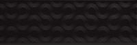 Opoczno dekorcsempe Opoczno Spin black geo dekorcsempe 25 x 75